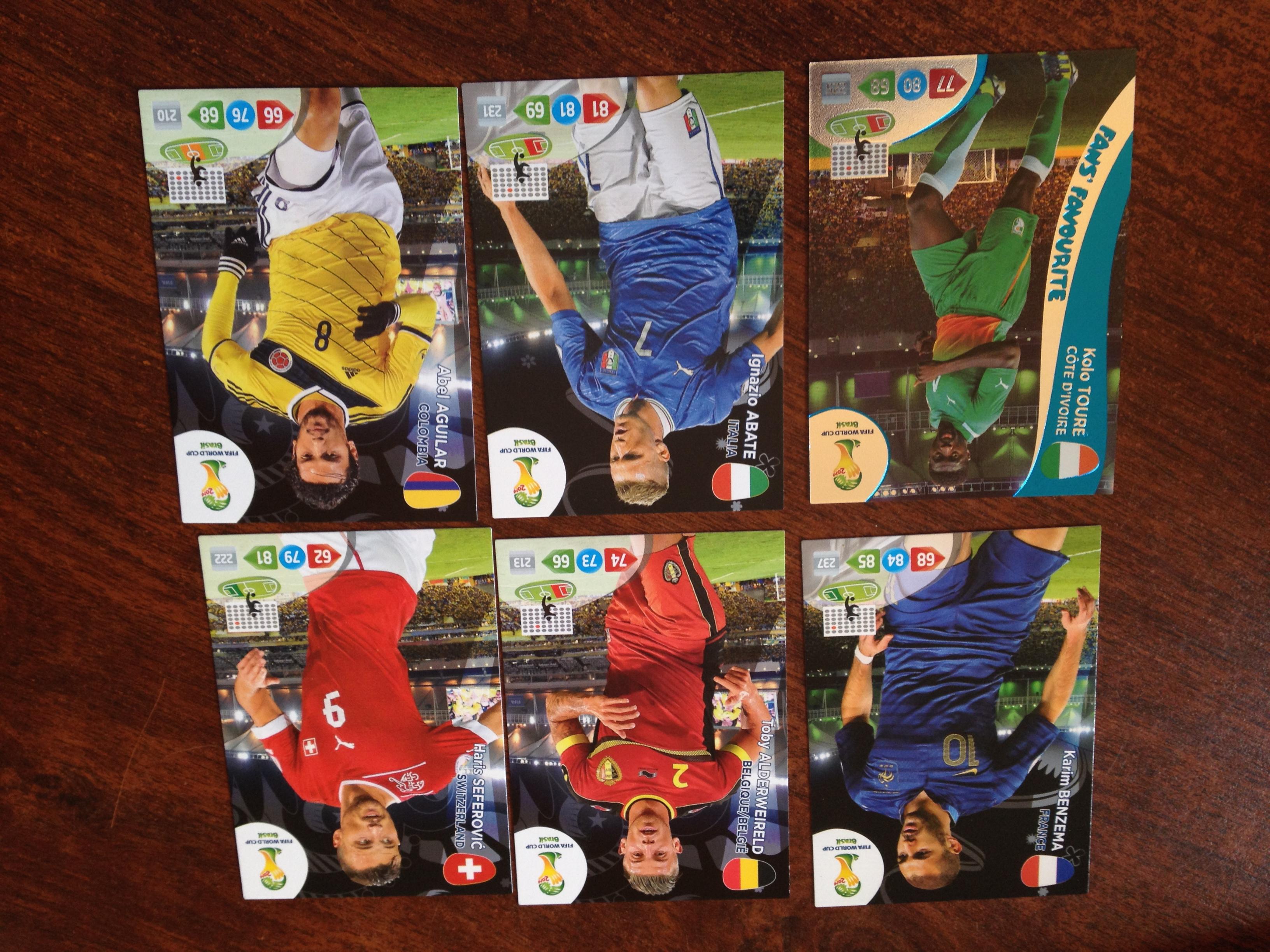 D ballage cartes panini adrenalyn coupe du monde 2014 jeux sorties papa maman moi jspmm - Carte coupe du monde 2014 ...