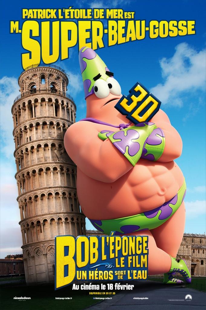 BOB L'EPONGE - Patrick