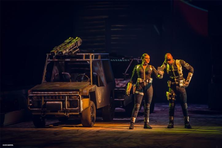 Nick Fury & MAria