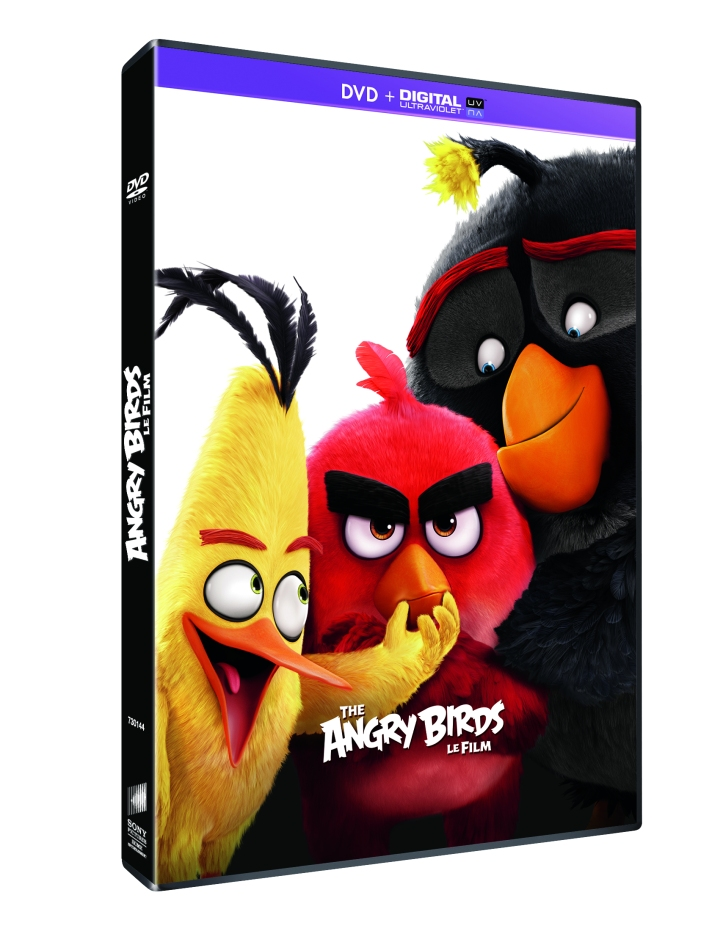 ANGRY BIRDS LE FILM DVD 3D