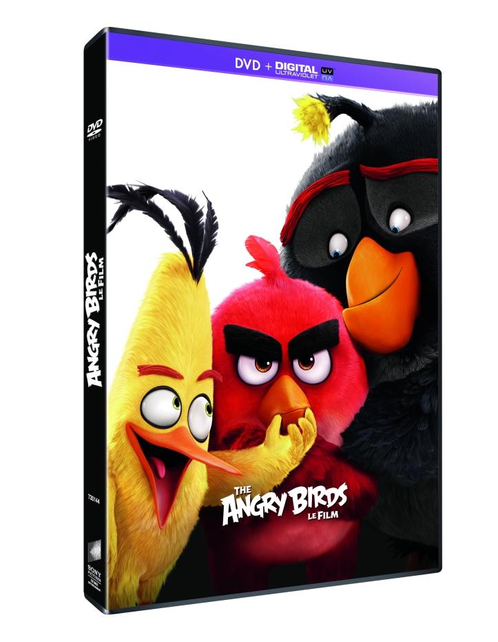 ANGRY BIRDS LE FILM DVD 3D