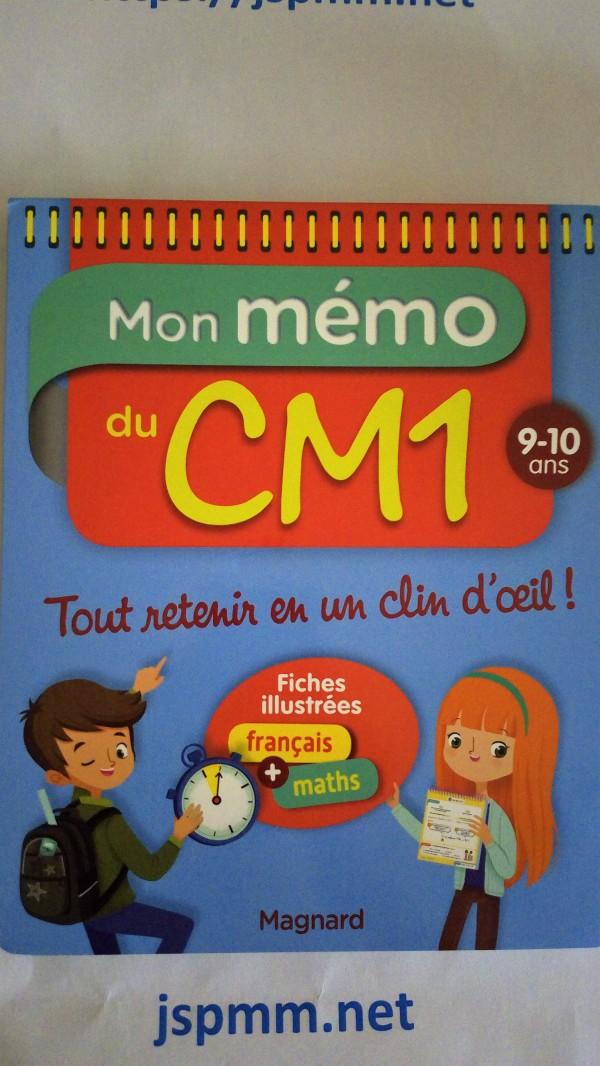 Avis Mon Memo Du Cm1 Magnard Jeux Sorties Papa