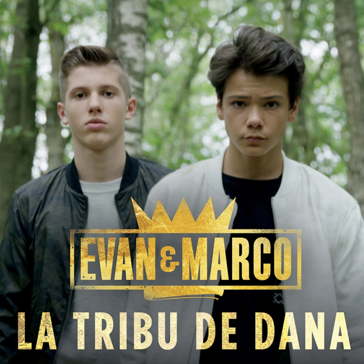 Evan et Marco - La Tribu De Dana (Cover Single BD)