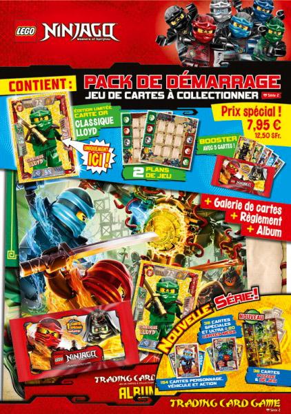 Lego Ninjago série 4 TCG cartes de collection carte Nº 154 Lloyds Spinjitzu Tourbillon