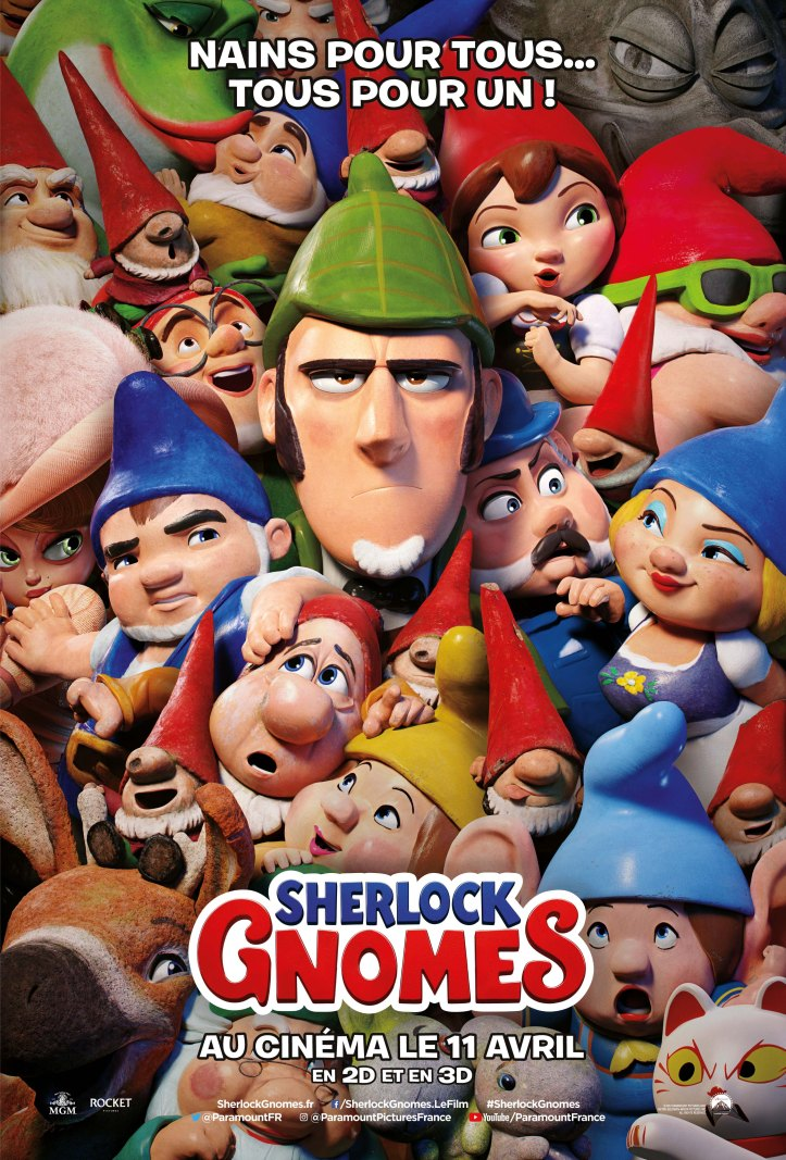 SHERLOCK GNOMES - affiche teaser