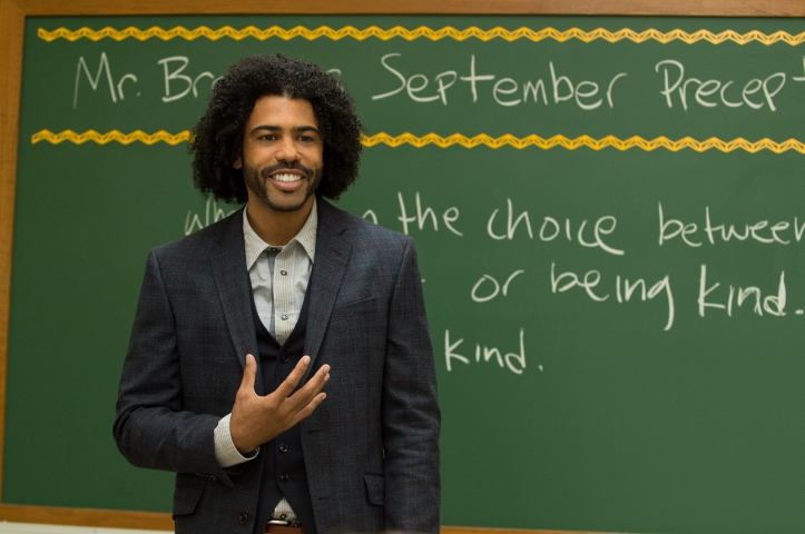 """Daveed Diggs as """"Mr.Browne"""" in WONDER. Photo by Dale Robinette."""