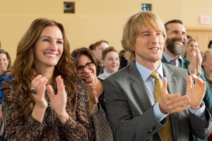 "Julia Roberts as ""Isabel"" and Owen Wilson as ""Nate"" in WONDER."