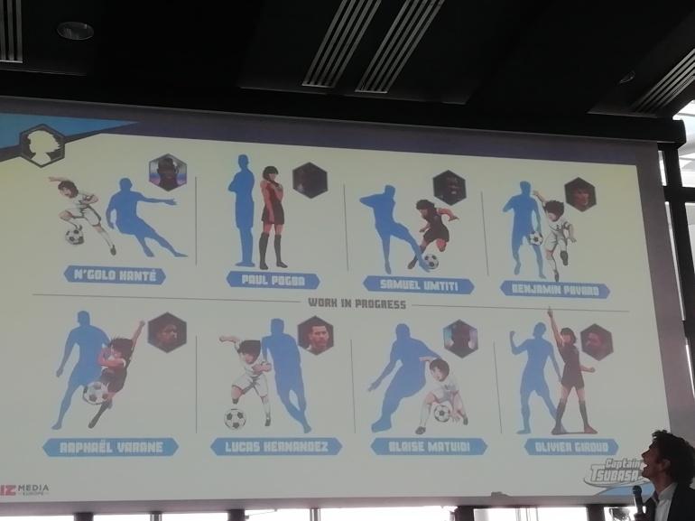Bientôt tous les joueurs de l'équipe de France en version manga !