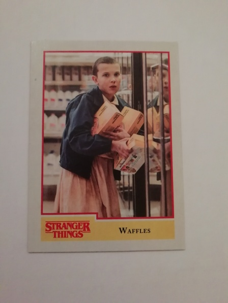 Carte Stranger Things Eleven